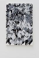 Wald, 2015 Acryllack auf Leinwand 190×120cm Schatten
