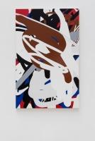 Dichte, 2015 Acryllack auf Leinwand 190×120cm