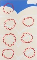 Wolkenskizze, 2015 Acryllack, Acryl auf Leinwand 160×100cm